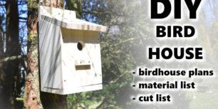 Building a Birdhouse | How to build a bird house
