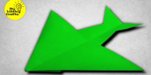 Dragon paper plane