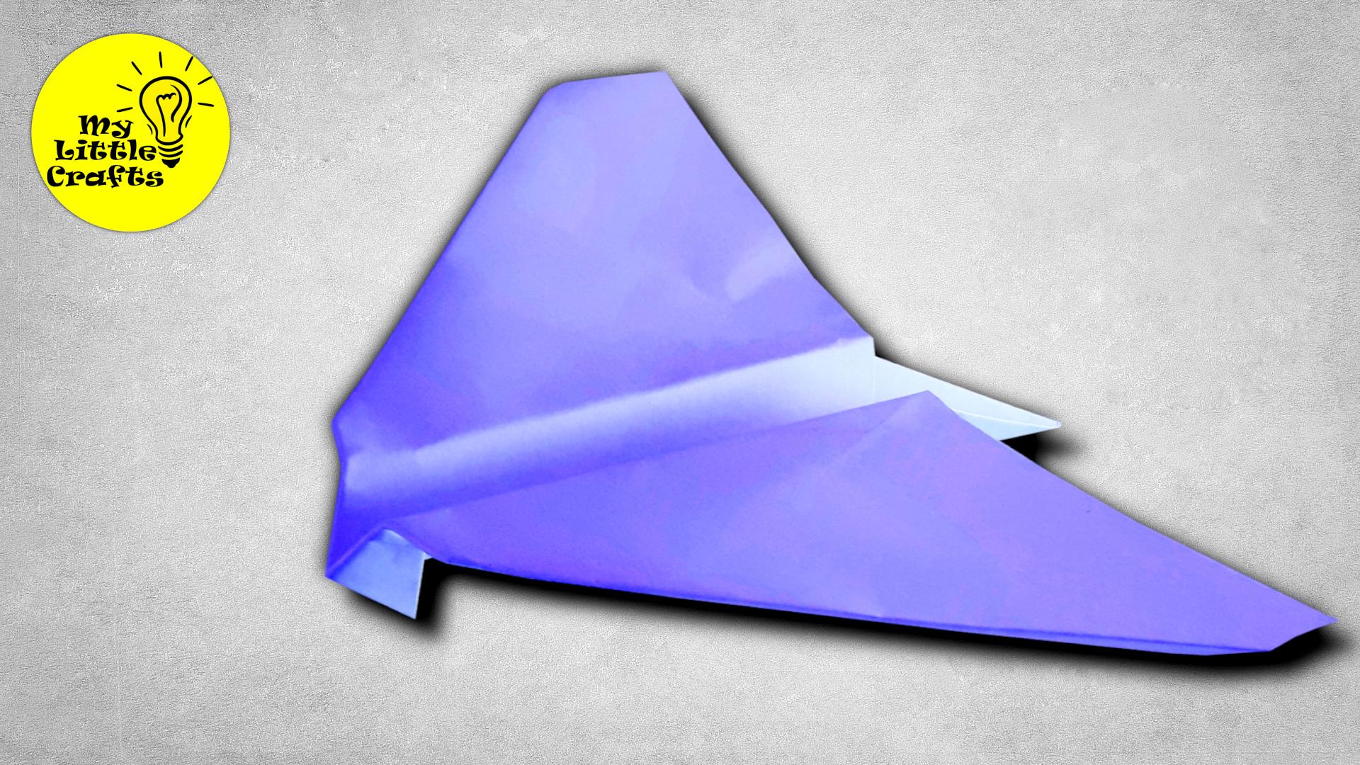 Bird paper airplane