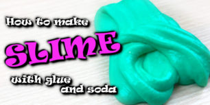 How To Make Slime With Glue And Soda