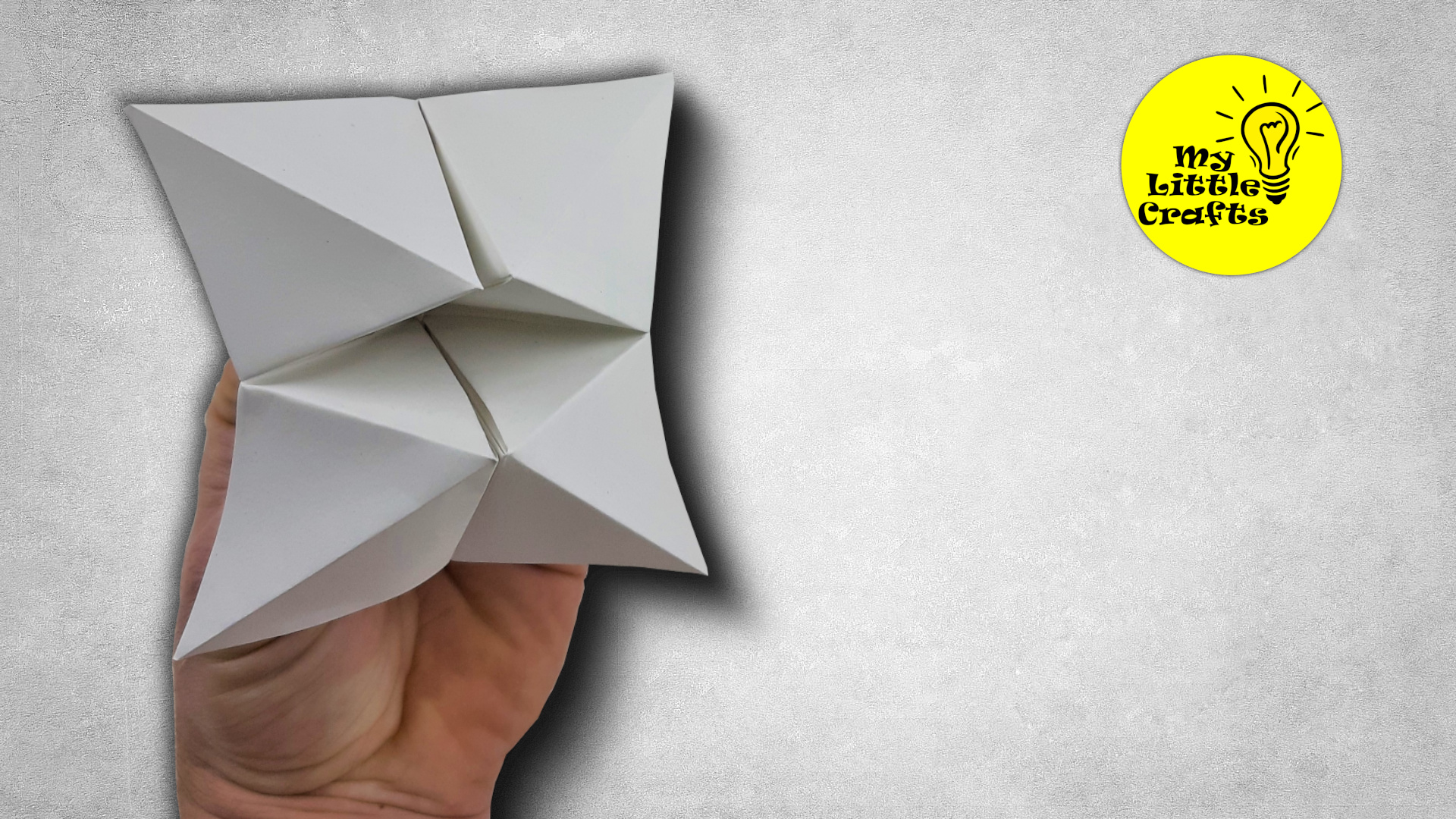 Origami Fortune Teller   Paper Fortune Teller
