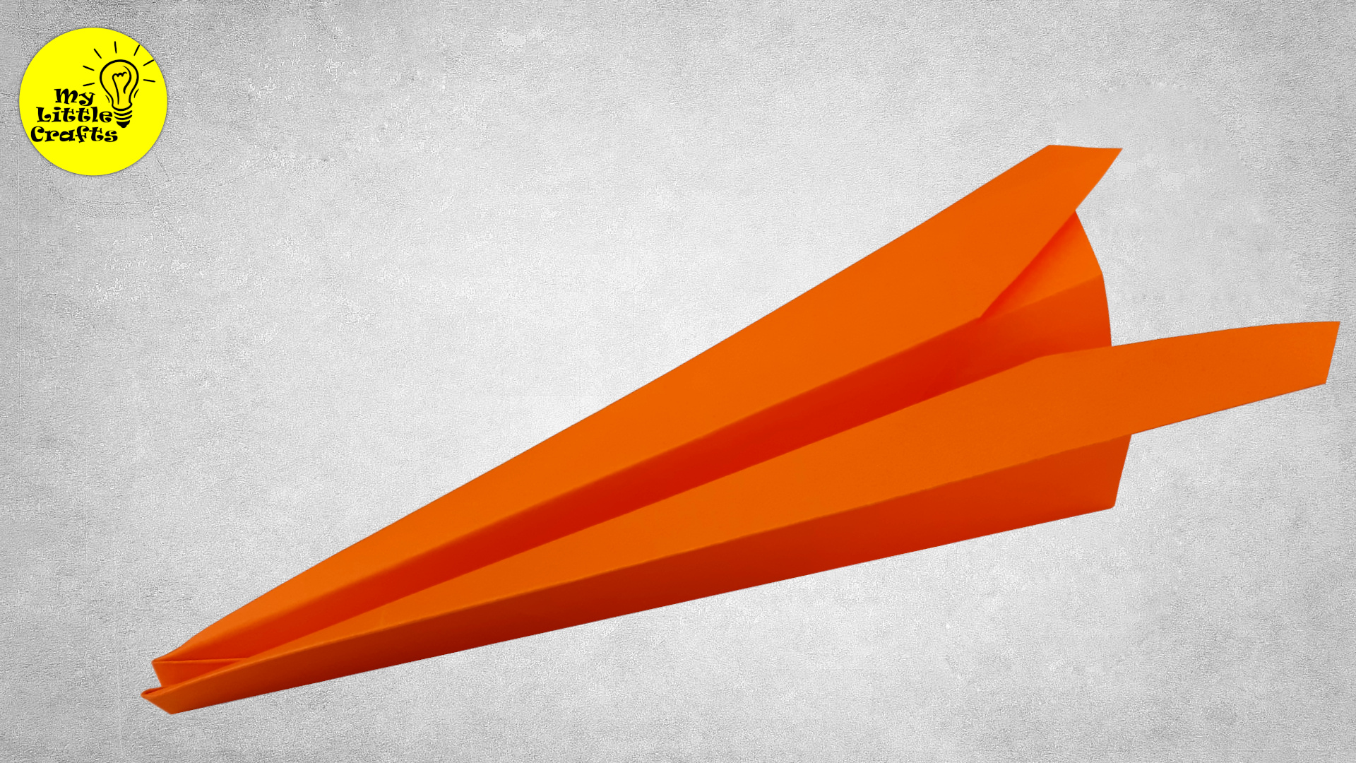Long Distance Glider | Origami Paper Plane