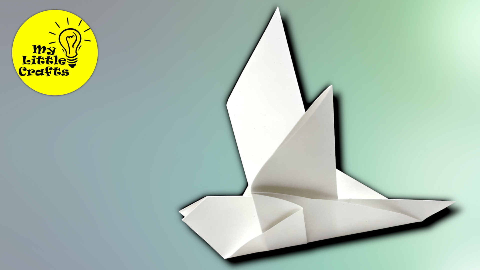 Paper Pigeon | How to make Origami Pigeon