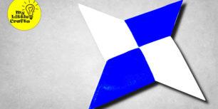 Paper Ninja Star | How To Make a Paper Ninja Star (Shuriken) | Origami