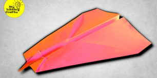 Short Nosed Paper Plane | Very FAST paper airplane