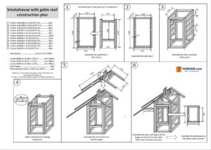 Smokehouse plans with material list