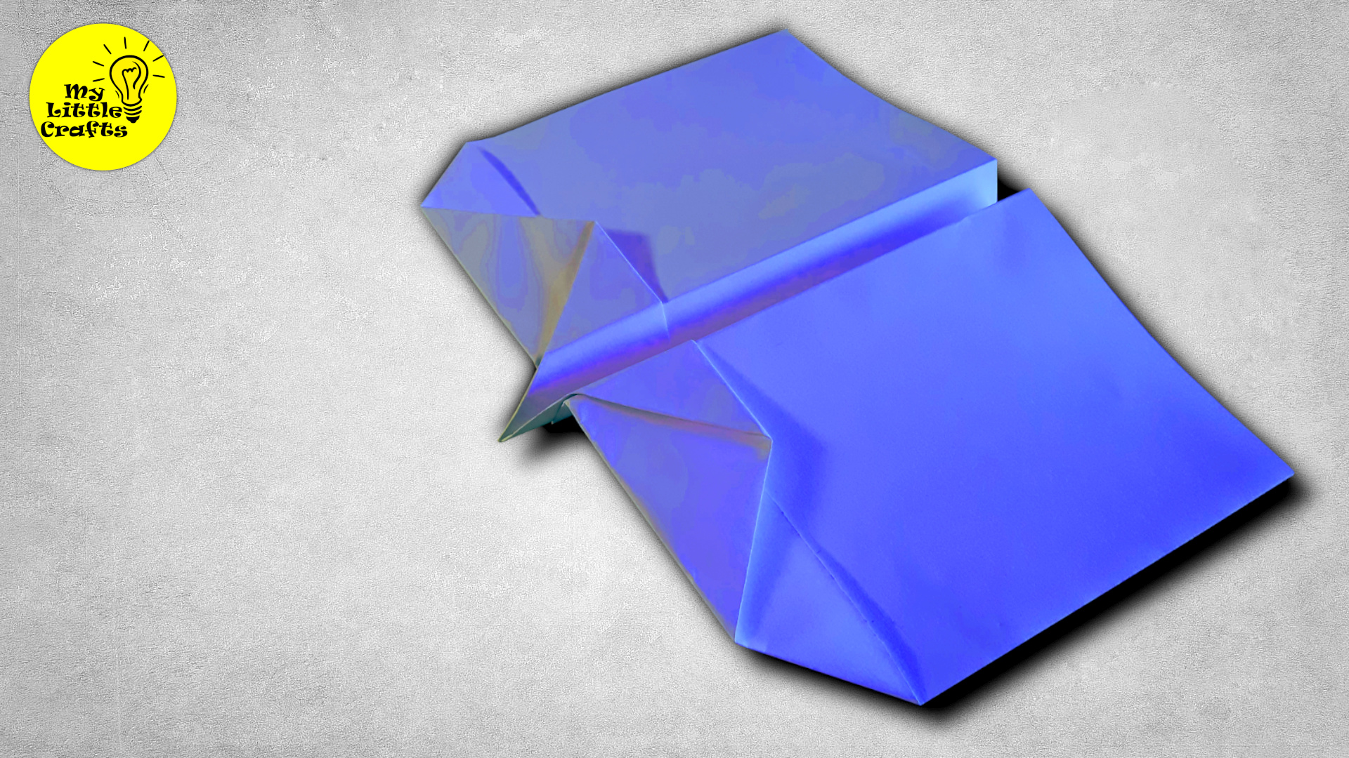 Square and Nose Paper Airplane