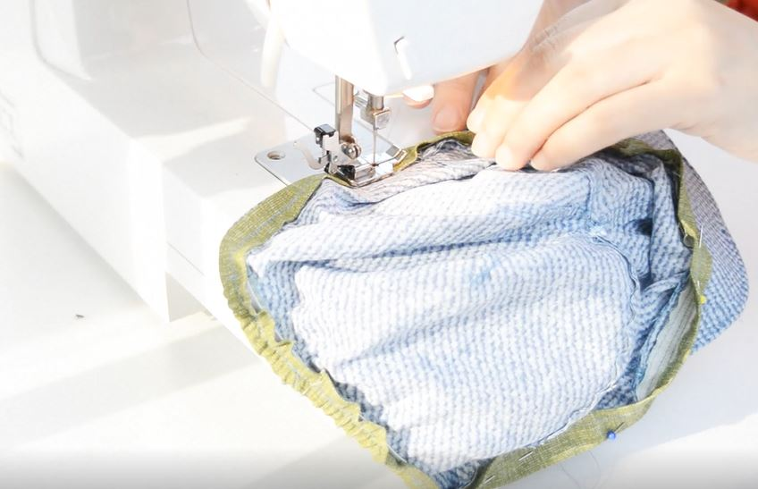 How to sew a cap - 16