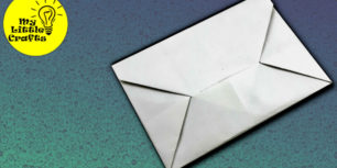Stationery folding technique | Origami envelope, Origami letter ... | 153x306