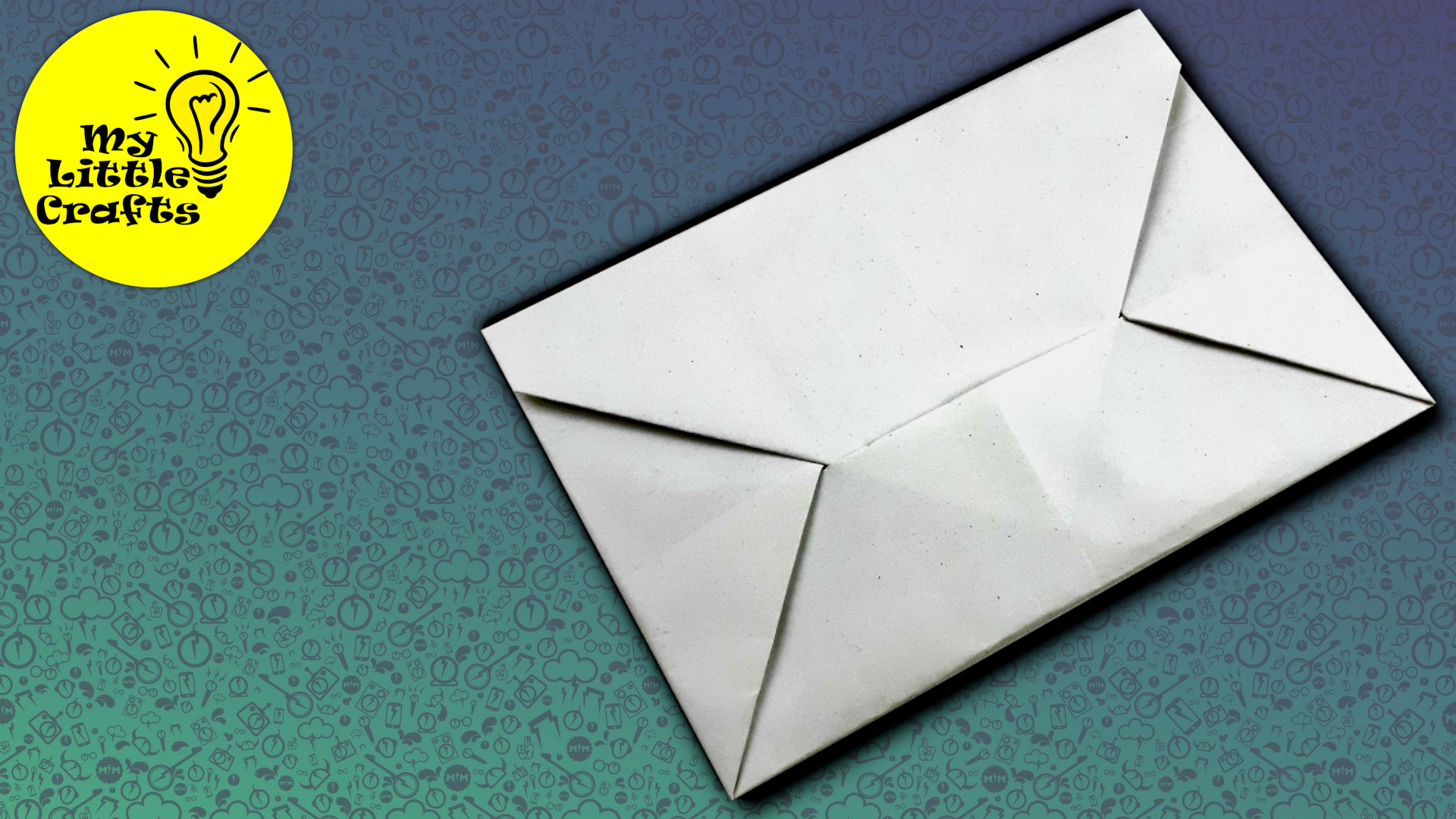 Origami Letter | How to make paper envelope