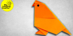 Origami Bird | How to make a paper bird