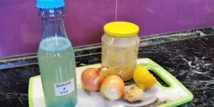Onion tea for cough and cold (home remedy)