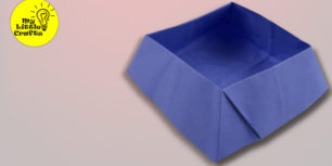 Origami candy box | paper candy box