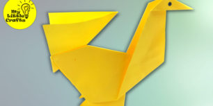Origami chicken | How to make a paper chicken | Paper Hen