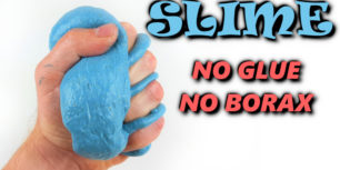 How to make slime without glue or borax | Flour slime