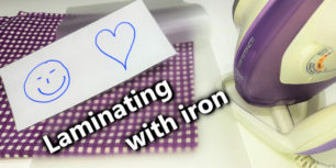 Laminate with Iron | How to laminate even without a laminator