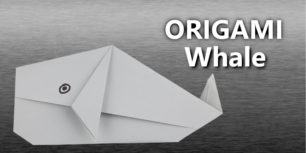 Origami whale | How to make a whale out of paper