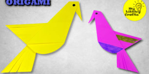 Origami parrot | How to make a Parrot out of paper