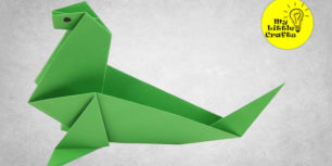 Origami sea cow - how to make a sea cow out of paper
