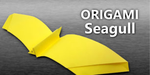 Origami Seagull - Create a seagull out of paper!
